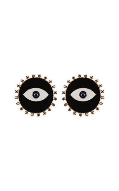 Bracet Evil Eye Statement Earrings