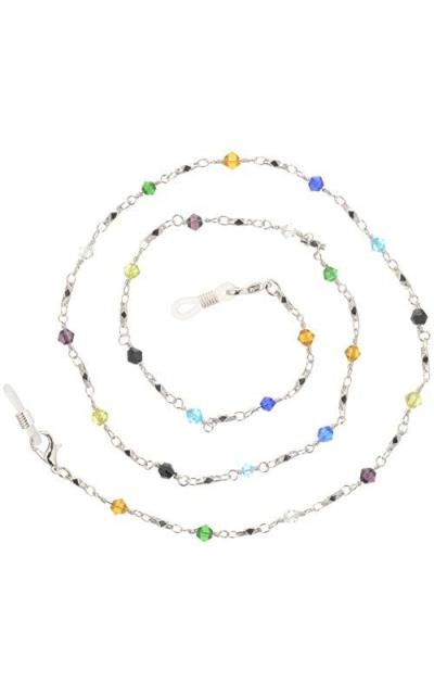 Beaded Glass Eyeglass Chain