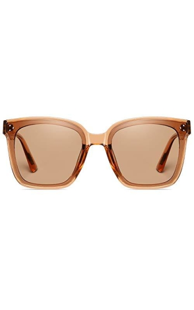 DUSHINE Oversized Polarized Sunglasses