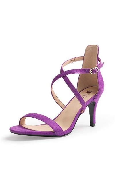 IDIFU Alva Cross Strappy Sandals Heels