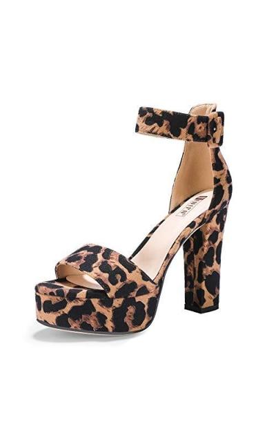 IDIFU IN5 Sabrina Ankle Strap Platform Heels
