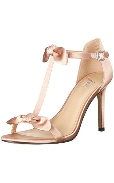 The Fix Nicolette Double Bow T-Strap Sandal