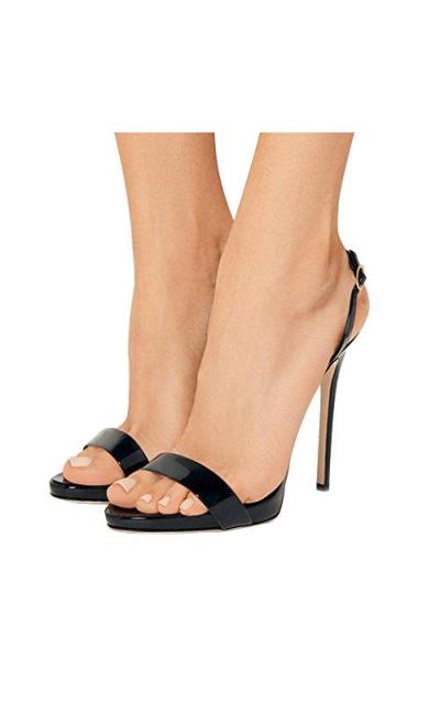 FSJ Slingback Buckled Sandals