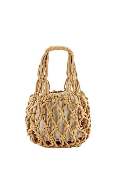 New Straw Bag Cotton Thread Woven Bag