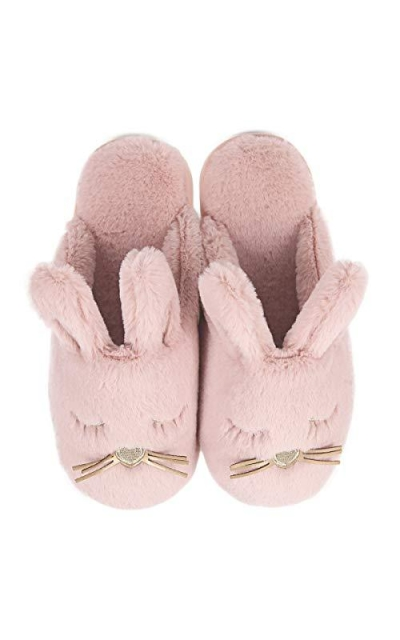 Cute Plush Bunny Animal Slippers
