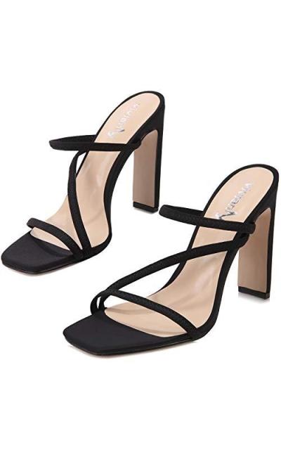 vivianly Open Toe Heeled Shoes