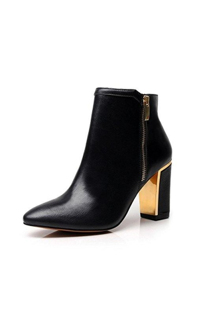 DUNION ny Chunky Heel Ankle Booties