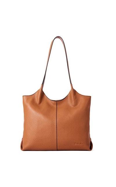 BOSTANTEN Soft Genuine Leather Tote