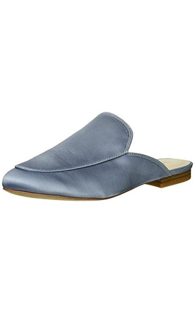 Kenneth Cole New York Wallice Slip on Satin Mule