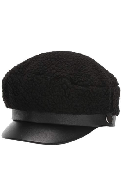 BCBGeneration Shearling Military Cap