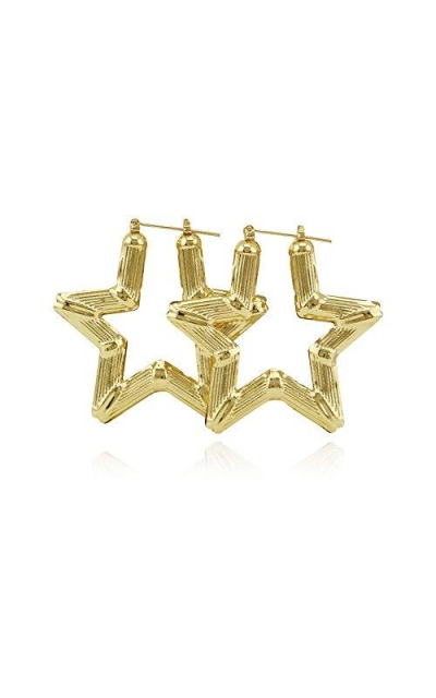 New Ethnic Star Hoop Earrings
