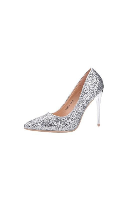 Ashley A  Glitter Party Pumps