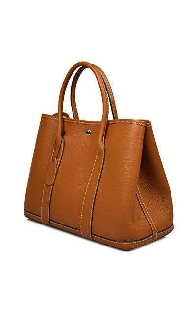 Esyuel Genuine Leather Garden Tote Bag