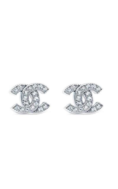MixiuEuro Double C Stud Earrings