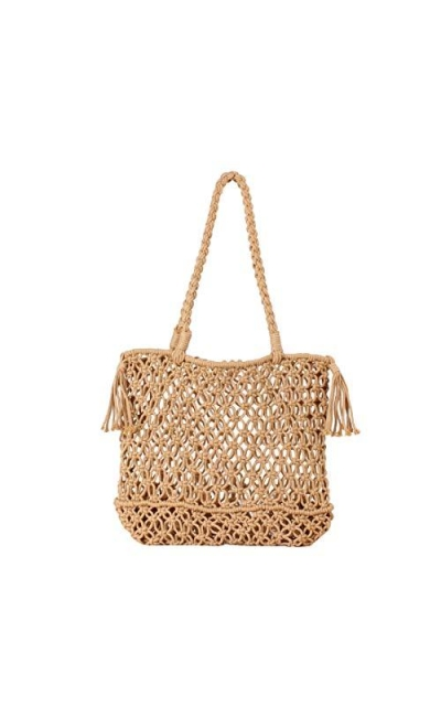 Straw Shoulder Handbag