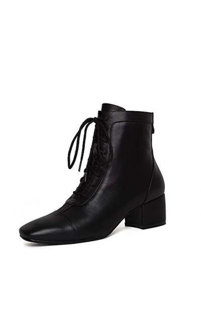 Nine Seven Genuine Leather Graceful Dress Ankle Boots