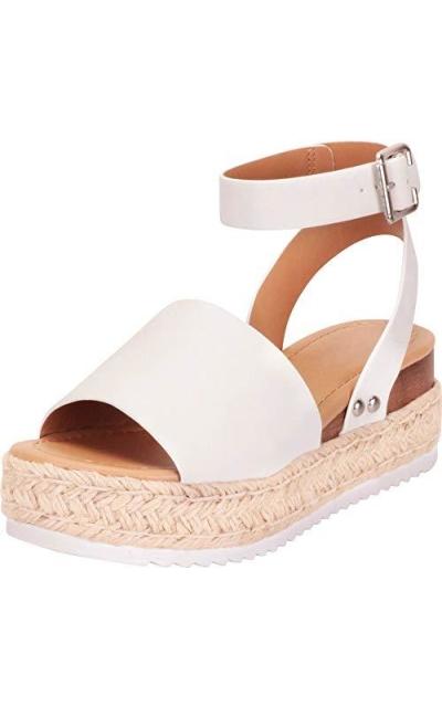 Cambridge Select Espadrille Flatform Sandal