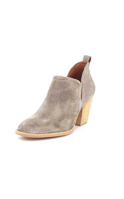 Jeffrey Campbell Rosalee Taupe Suede Boot