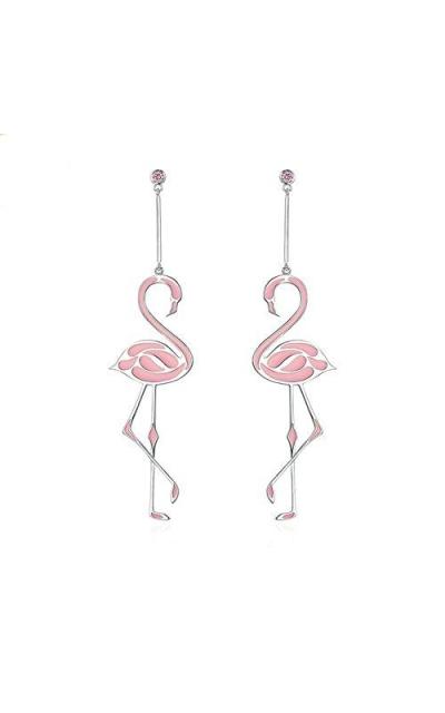 BEAUTY Flamingo Earrings