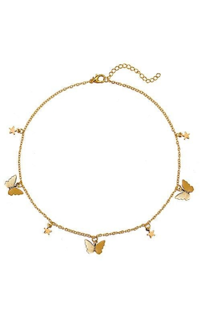 Star Butterfly Necklace Choker
