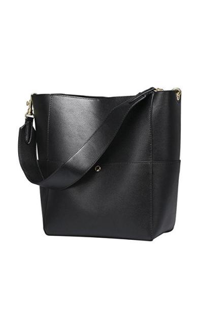 S-ZONE Bucket Tote Shoulder Bag