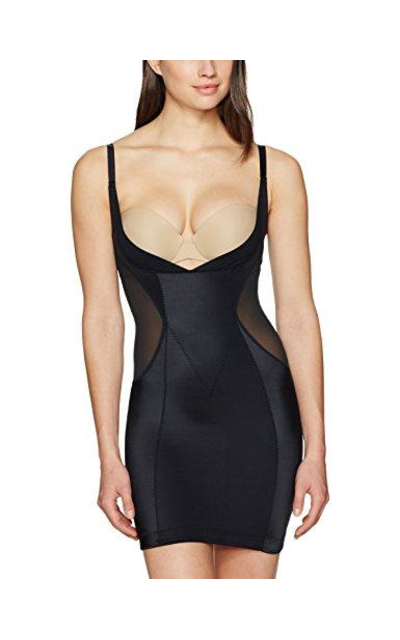 Arabella Firm Control Open Bust Slip Shapewear