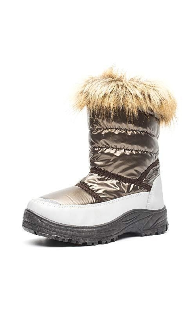 DRKA Snow Boots with Fur Lined