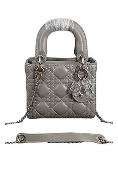Mini Lady Dior Lambskin Bag