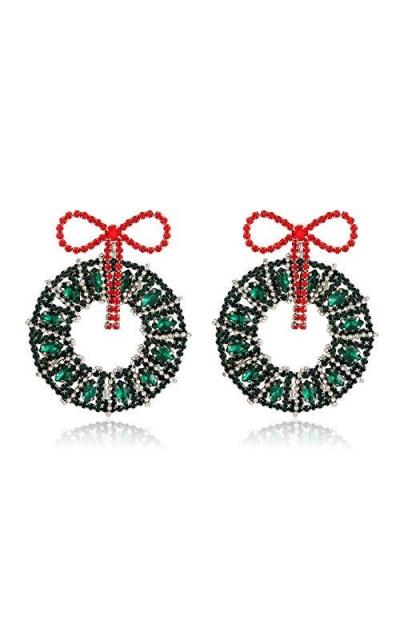 NLCAC Wreath Earrings
