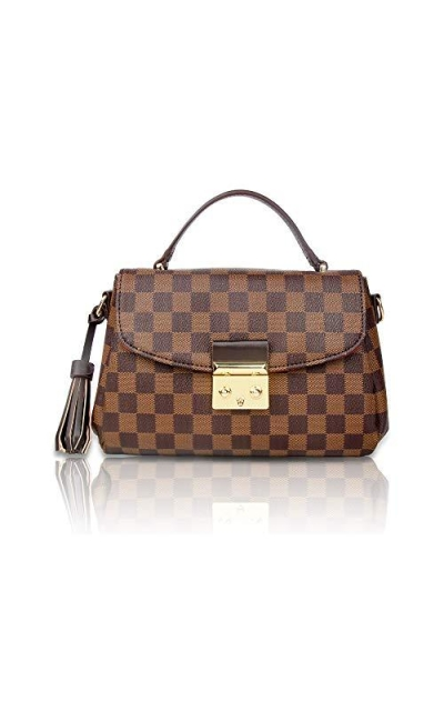 Herrosy Checkered Handbag