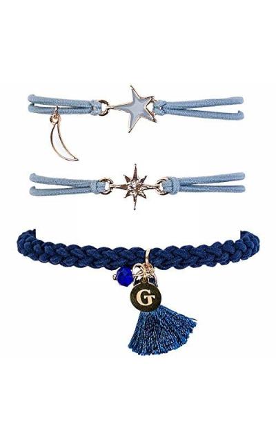 Gemtye Hair Ties/Bracelets - Pack of 3