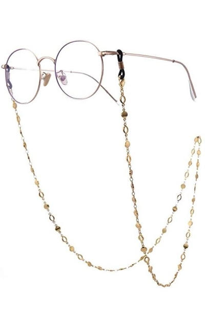 LIKGREAT Circle Chain Eyeglass Chain