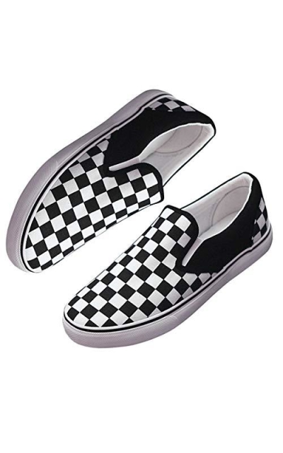 Ouronehome Checkerboard Shoes