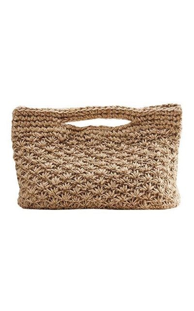 Aiello's Story Straw Bag