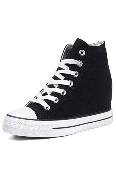 Catata Casual Canvas Wedge Sneakers