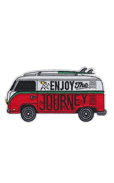 Asilda Store Enjoy The Journey Patch