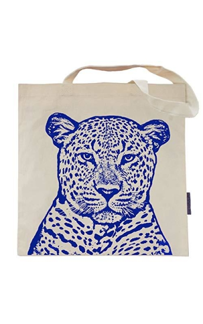 Pet Studio Art The Leopard Tote Bag Beige