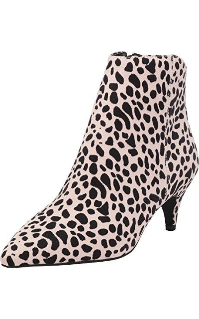 Cambridge Select Kitten Heel Ankle Bootie
