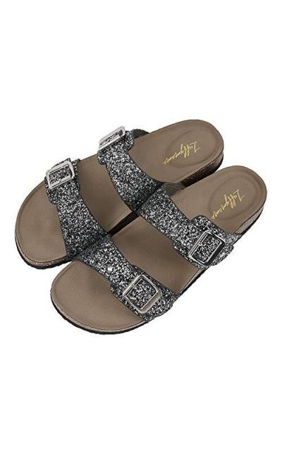 LUFFYMOMO Slide Sole Sandals
