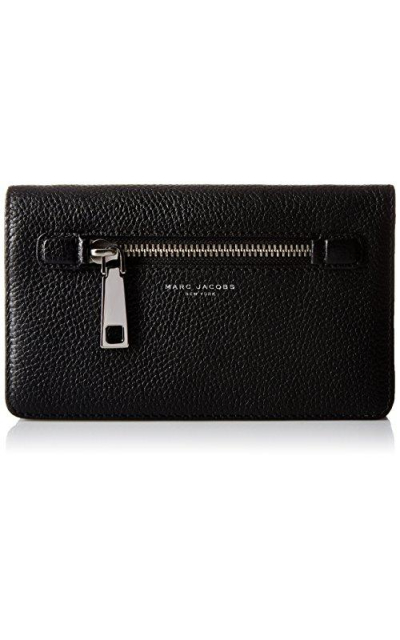 Marc Jacobs Gotham City Leather Strap Wallet