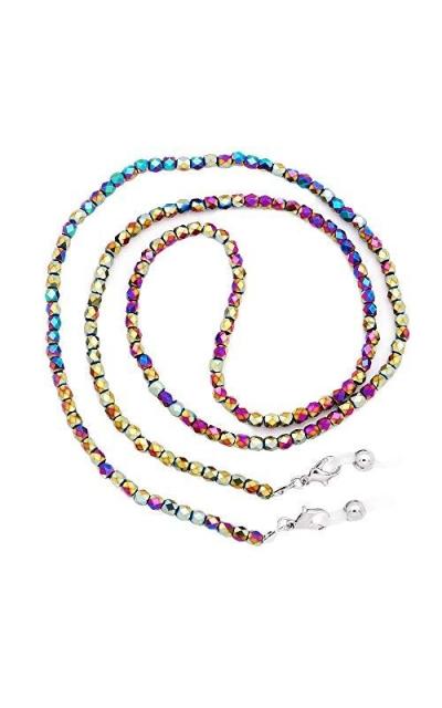 KAI Top Beaded Crystal Sunglass Chain