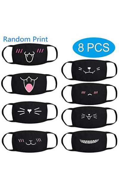Dina 8PCS  Cat Face Mask