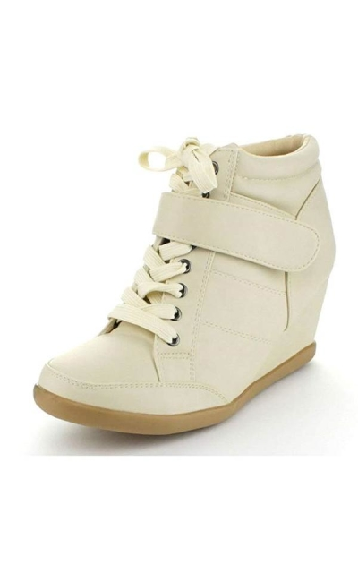 Forever Peggy-61 Wedge Sneakers