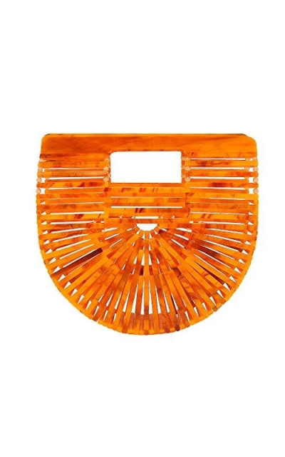 Miuco Acrylic Handbag Purse Mini