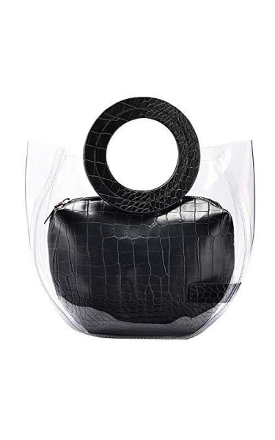 LOPHORINA Clear Tote Bag PVC Handbag