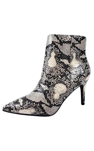 Classic Pointed Toe Stiletto High Heel Ankle Bootie
