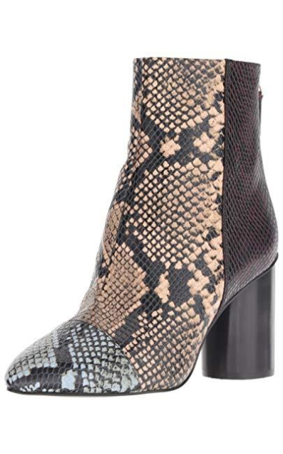 Nine West Cabrillo Reptile Print Ankle Boot