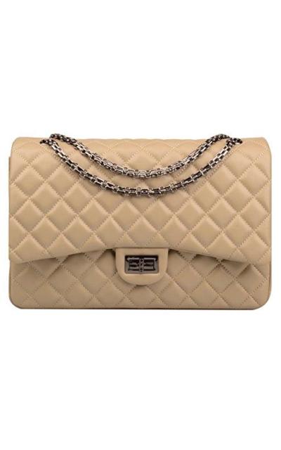 Ainifeel Quilted Oversize Shoulder Handbag