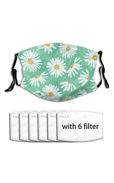 5-Layer Reusable Face Protection With 6pcs P-M-2.5-Filters