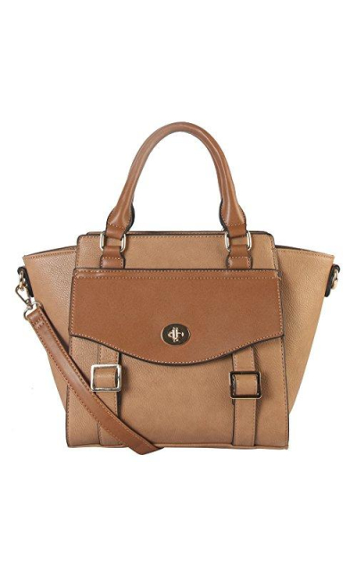 Diophy Vegan Leather Top Handle Bag